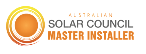 Australian Solar Council Master Installer Badge with white background