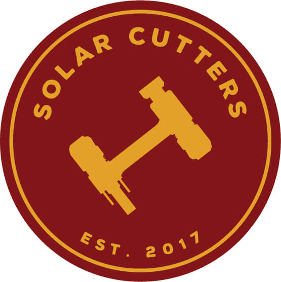 Solar Cutters Logo with white background